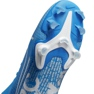 Buty piłkarskie Nike Mercurial Superfly 7 Academy FG/MG Jr AT8120 414 niebieskie zdjęcie 3