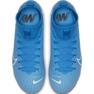 Buty piłkarskie Nike Mercurial Superfly 7 Academy FG/MG Jr AT8120 414 niebieskie zdjęcie 4