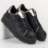 Bestelle Buty Sportowe Na Platformie czarne 4