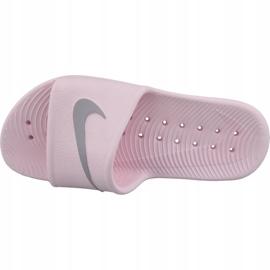 Klapki Nike Kawa Shower 832655-601 różowe 2