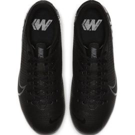 Buty piłkarskie Nike Mercurial Vapor 13 Academy FG/MG Jr AT8123 001 czarne czarny 1