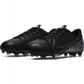 Buty piłkarskie Nike Mercurial Vapor 13 Academy FG/MG Jr AT8123 001 czarne czarny 3