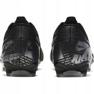 Buty piłkarskie Nike Mercurial Vapor 13 Academy FG/MG Jr AT8123 001 czarne zdjęcie 4