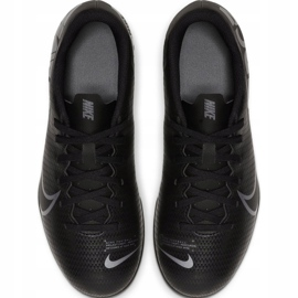 Buty piłkarskie Nike Mercurial Vapor 13 Club FG/MG Jr AT8161 001 czarne czarny 1