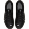Buty piłkarskie Nike Mercurial Vapor 13 Club FG/MG Jr AT8161 001 czarne zdjęcie 1