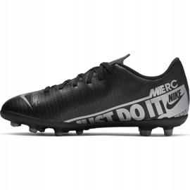 Buty piłkarskie Nike Mercurial Vapor 13 Club FG/MG Jr AT8161 001 czarne czarny 2