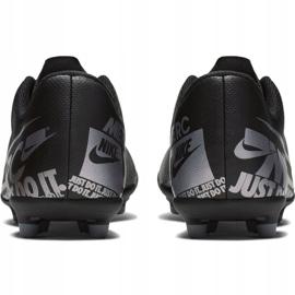 Buty piłkarskie Nike Mercurial Vapor 13 Club FG/MG Jr AT8161 001 czarne czarny 4