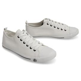 Klasyczne Trampki 9910 Biały białe 3