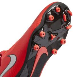 Buty piłkarskie Nike Phantom Vsn Academy Df FG/MG Jr AO3287-600 czerwone czerwone 5