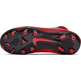 Buty piłkarskie Nike Phantom Vsn Academy Df FG/MG Jr AO3287-600 czerwone czerwone 6