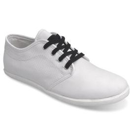 Trampki Męskie 5307 Biały białe 2