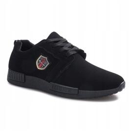 Czarne obuwie sportowe Adamo 1