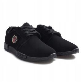 Czarne obuwie sportowe Adamo 2