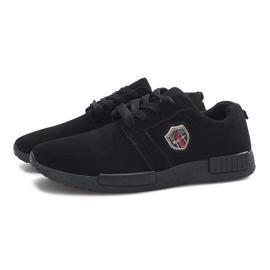 Czarne obuwie sportowe Adamo 3