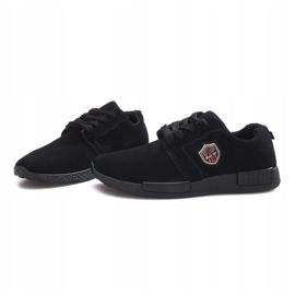 Czarne obuwie sportowe Adamo 4
