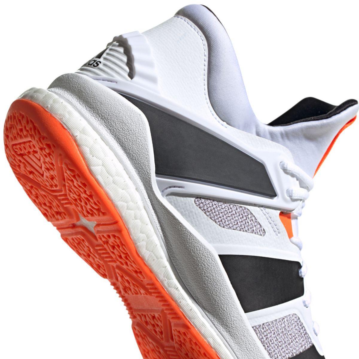 Buty adidas Stabil X Mid M F33827 białe biały