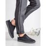 Ideal Shoes Czarne Sznurowane Obuwie 2