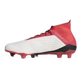 Buty piłkarskie adidas Predator 18.1 Fg M CM7410 białe białe 1
