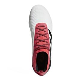 Buty piłkarskie adidas Predator 18.1 Fg M CM7410 białe białe 2