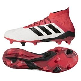 Buty piłkarskie adidas Predator 18.1 Fg M CM7410 białe białe 3