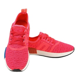 Różowe obuwie sportowe MD01B-4 3