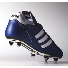 Buty piłkarskie adidas Kaiser 5 Cup Sg M B34259 niebieskie niebieskie 1