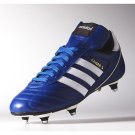 Buty piłkarskie adidas Kaiser 5 Cup Sg M B34259 niebieskie niebieskie 3