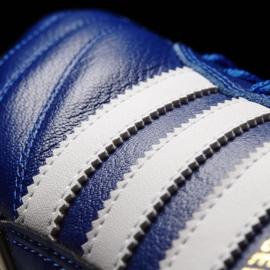 Buty piłkarskie adidas Kaiser 5 Cup Sg M B34259 niebieskie niebieskie 5