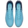 Buty piłkarskie Nike Tiempo Ligera Iv Fg M 897744-414 niebieskie 1
