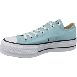 Buty Converse Chuck Taylor All Star Lift W 560687C niebieskie 1
