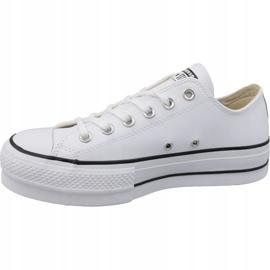 Buty Converse Chuck Taylor All Star Lift Clean Ox W 561680C białe 1