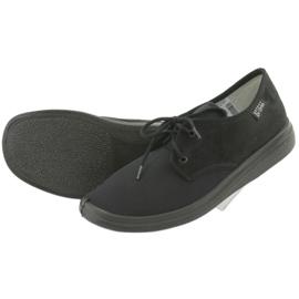 Befado obuwie damskie pu  990M001 czarne 4