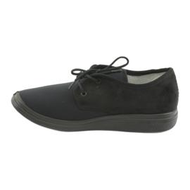 Befado obuwie damskie pu  990M001 czarne 2