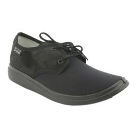 Befado obuwie damskie pu  990M001 czarne 1