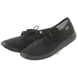Befado obuwie damskie pu  990M001 czarne 3