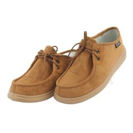 Befado obuwie damskie pu 871D005 beżowy 4