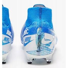 Buty Nike Mercurial Superfly 7 Elite Ag Pro M AT7892 414 niebiesko białe niebieskie biały, niebieski 3