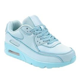Błękitne obuwie sportowe LXC-7500 niebieskie 1