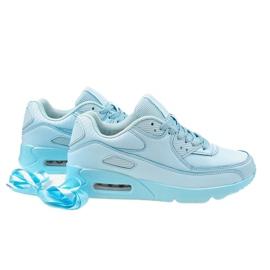 Błękitne obuwie sportowe LXC-7500 niebieskie 4
