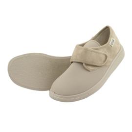 Befado obuwie damskie pu 036D005 brązowe 5