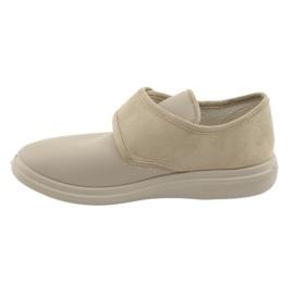 Befado obuwie damskie pu 036D005 brązowe 3