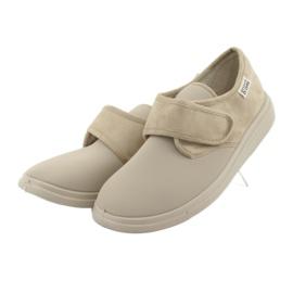 Befado obuwie damskie pu 036D005 brązowe 4