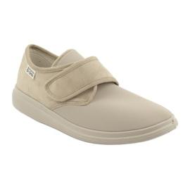 Befado obuwie damskie pu 036D005 brązowe 2