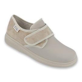 Befado obuwie damskie pu 036D005 brązowe 1