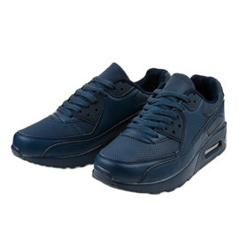Granatowe obuwie sportowe A939-3 3