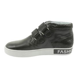 Mazurek Trzewiki  czarne FashionLovers 2
