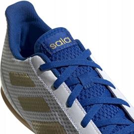 Buty piłkarskie adidas Predator Sala 19.4 In M EG2827 białe 3