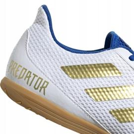 Buty piłkarskie adidas Predator Sala 19.4 In M EG2827 białe 4