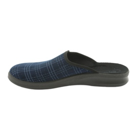 Befado obuwie męskie pu 548M010 granatowe niebieskie 2