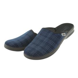 Befado obuwie męskie pu 548M010 granatowe niebieskie 3